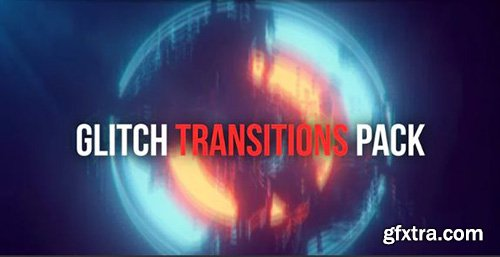 Glitch Transitions Pack - After Effects 93787