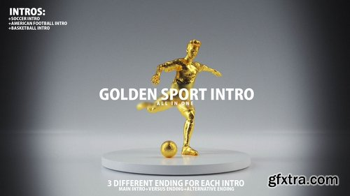 Videohive Golden Sport Intro 22115426