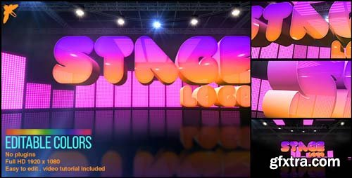 Videohive - Stage Logo - 17425423