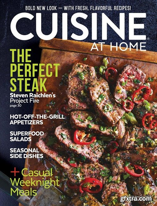 Cuisine at Home – May 2018