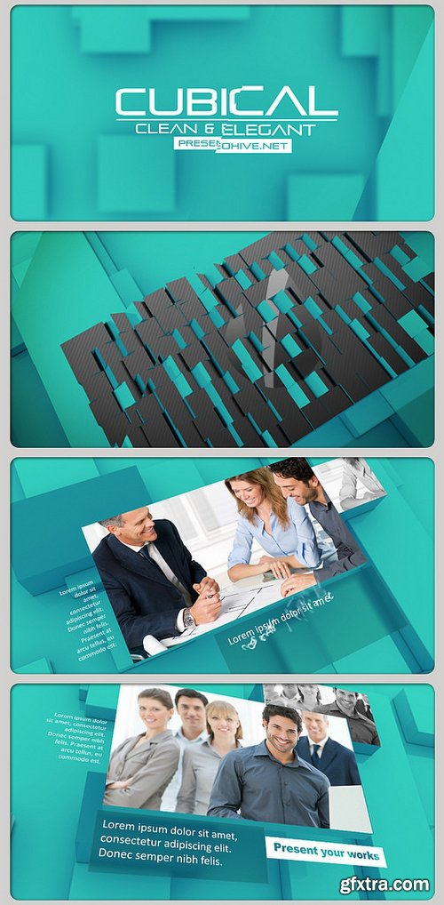 Videohive Cubical 3D 2919335