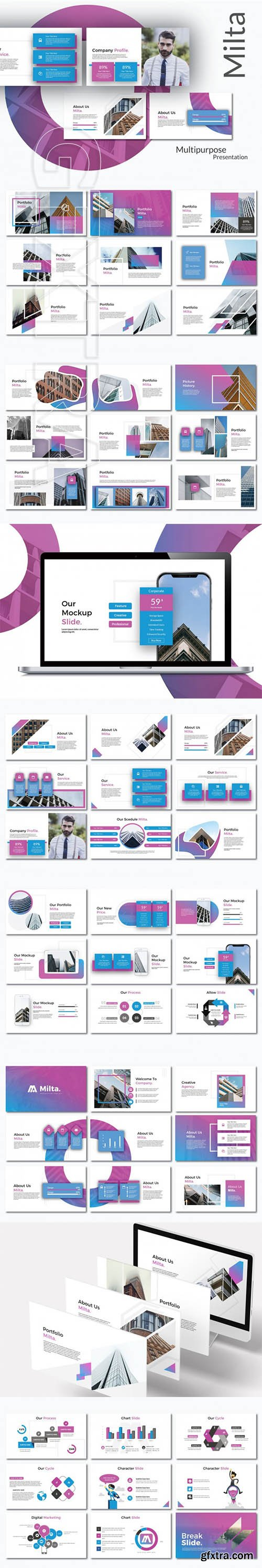 Milta Powerpoint Template