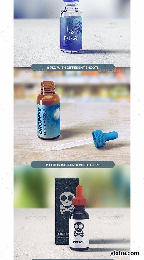 GraphicRiver - Dropper Bottle MockUp 13163443