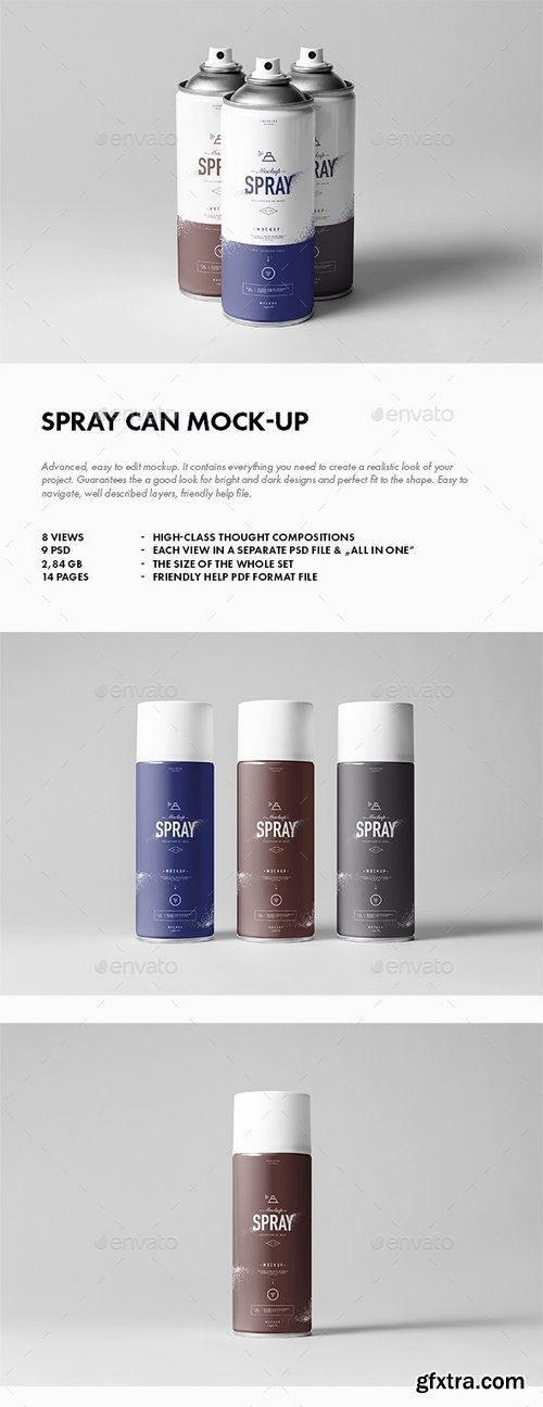 GraphicRiver - Spray Can Mock-up 17626758