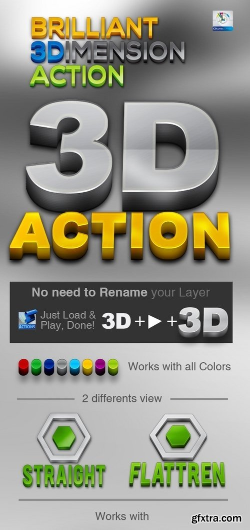 GraphicRiver - Brilliant 3D Action 3527349