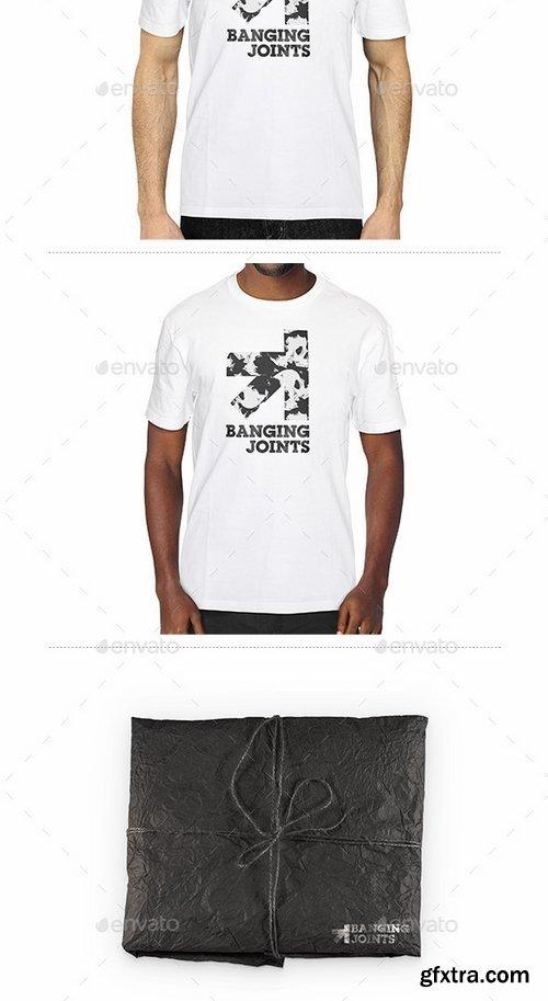 GraphicRiver - White T-Shirt Presentation Mockup 14023620
