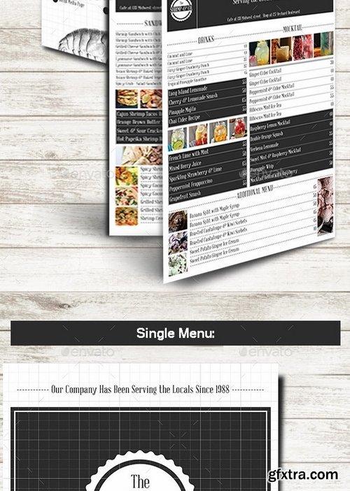 GraphicRiver - Shrimp & Co Menu Set 10278445