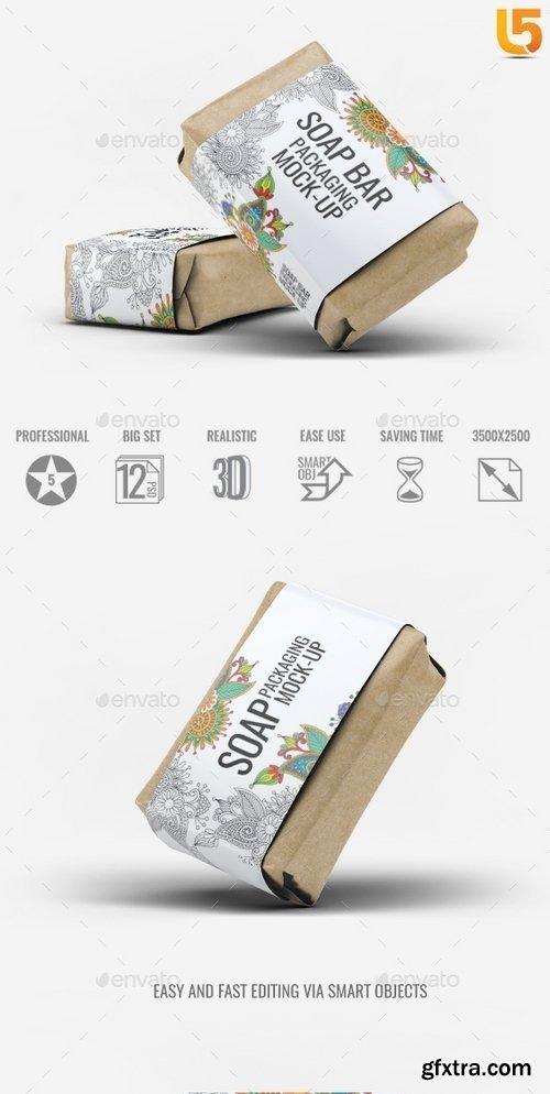 GraphicRiver - Soap Bar Paper Sleeve Mock-Up 19529641