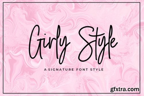 Girly Style Font