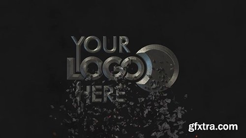 Cinematic Shatter Logo Intro 92394