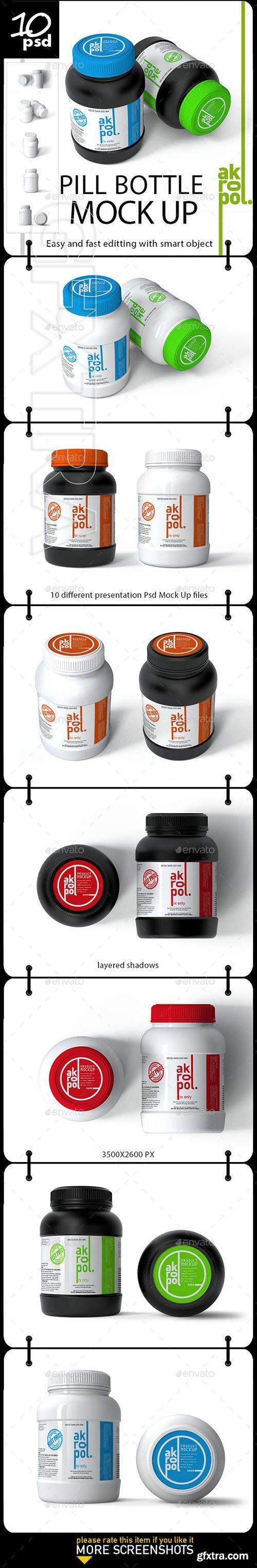 GraphicRiver - Pill Bottles Mock-up 22323796
