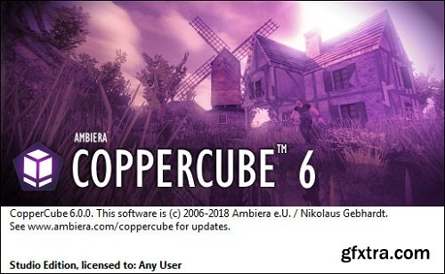 Ambiera CopperCube Studio Edition 6.0 Multilingual Portable