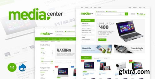 ThemeForest - Media Center - Multipurpose Drupal Theme (Update: 5 June 15) - 11556915