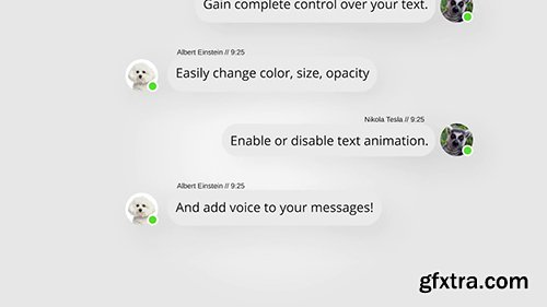 Text Message Kit With Voice 92343