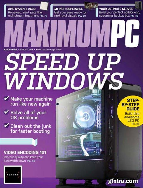 Maximum PC - August 2018