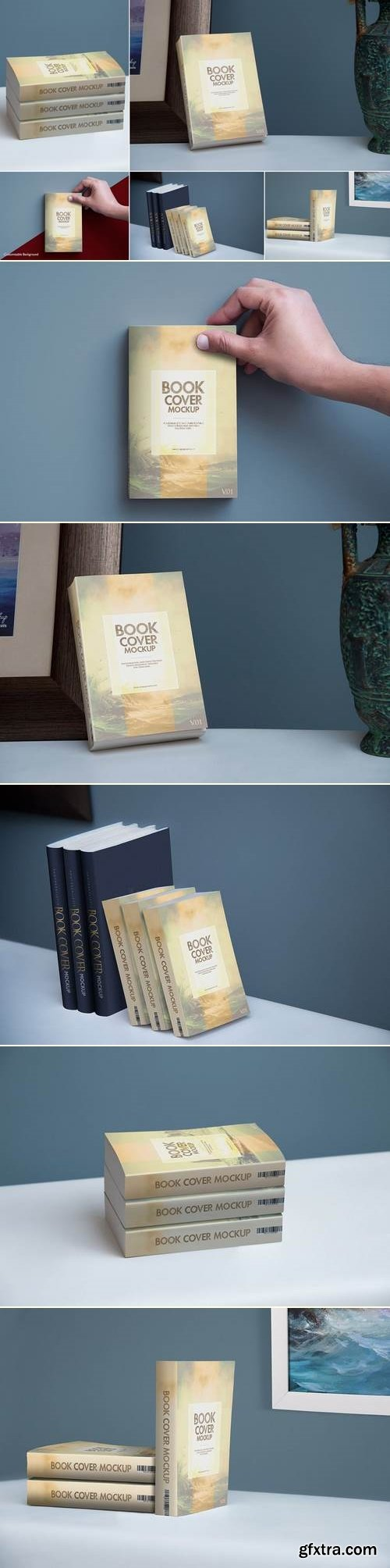 softcover Book Mock Ups