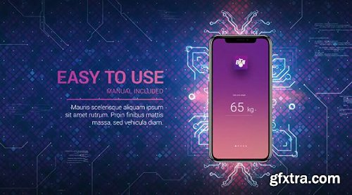 Technology App Promo - After Effects 98389