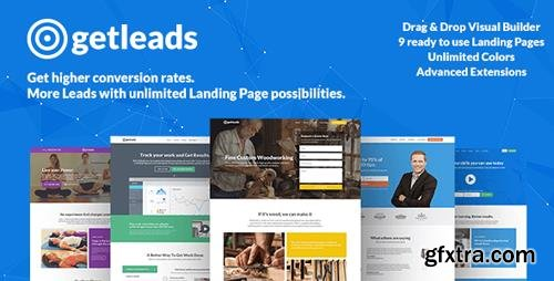 ThemeForest - Getleads v1.8 - High-Performance Landing Page WordPress Theme - 16264835