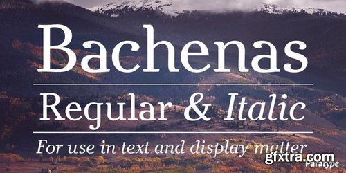 Bachenas Font Family