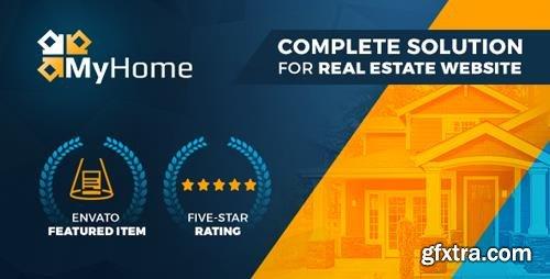 ThemeForest - Real Estate WordPress Theme | MyHome v3.0.8 - 19508653