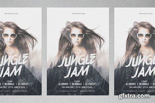 Jungle Jam Flyer