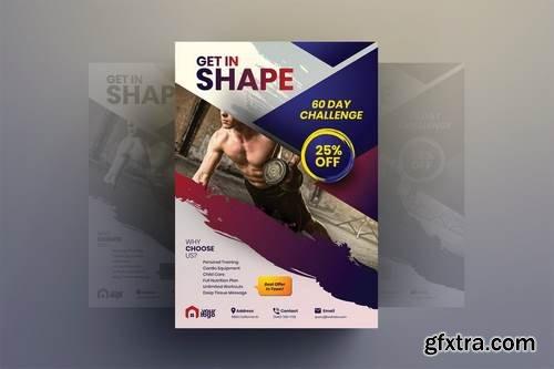 Get In Shape - Gym Flyer