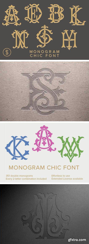 Monogram Chic Font