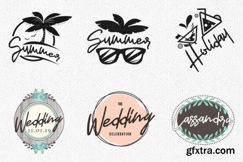 Jasmine Font Family - 2 Fonts