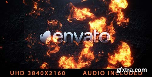 Videohive - Cinematic Fire Logo - 20727138