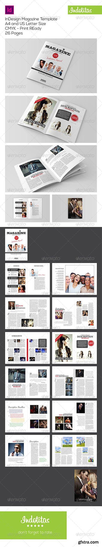 InDesign Magazine Template 7223351