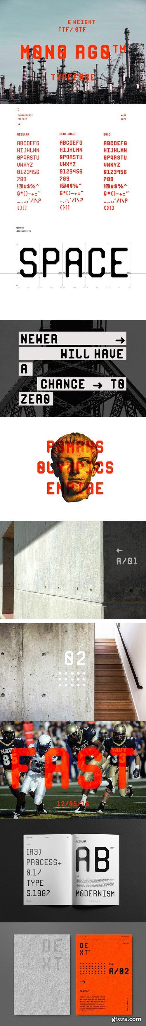 Mix Fonts Bundle 3