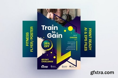 Train to Gain - Fitness Flyer