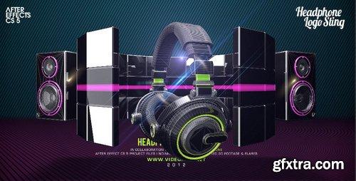Videohive Headphone Logo Sting 2508675