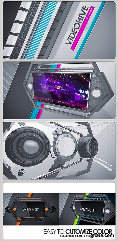 Videohive Party Teaser Dub Space 3620366