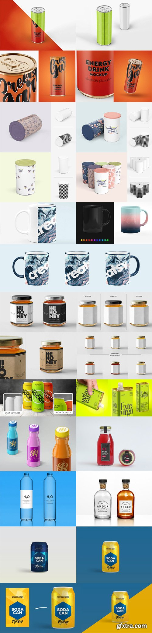 Multipurpose PSD Mockups Collection