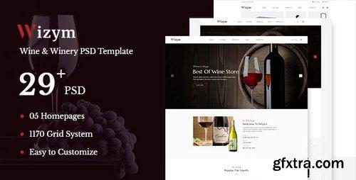 ThemeForest - Wizym   Wine & Winery PSD Template - 22288689