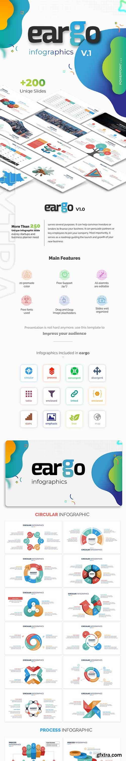 GraphicRiver - Eargo - Infographics PowerPoint Template 22323761