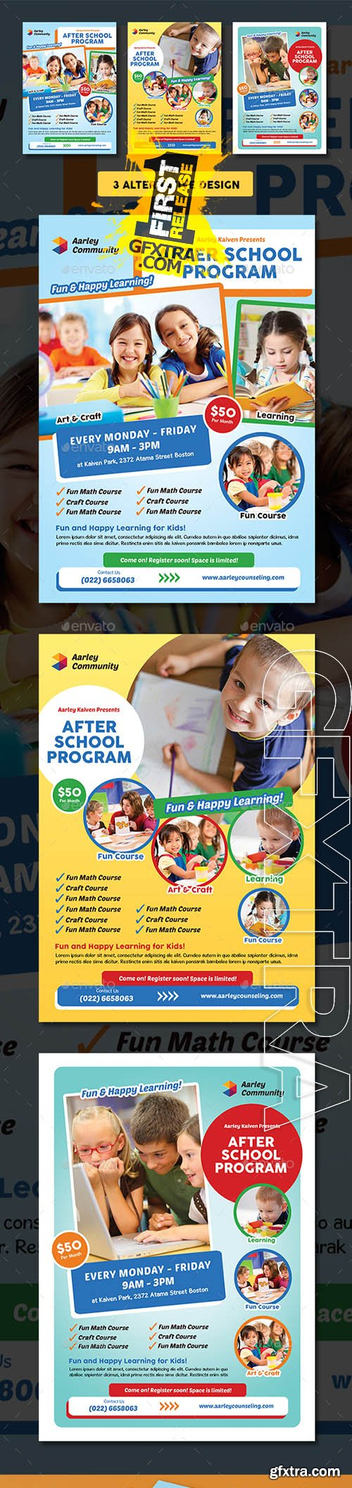 After School Program Flyer 18411159