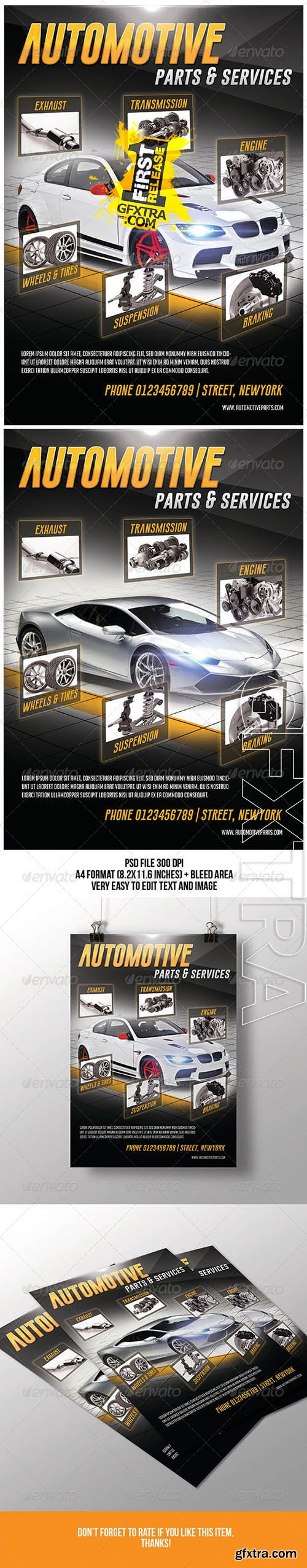 Automotive Parts & Services Flyer 7144154