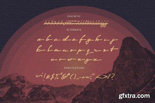 Outrunner 80\'s Retro Script Font