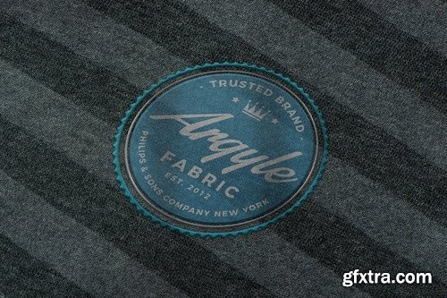 Photo-realistic Fabric Logo Mockups