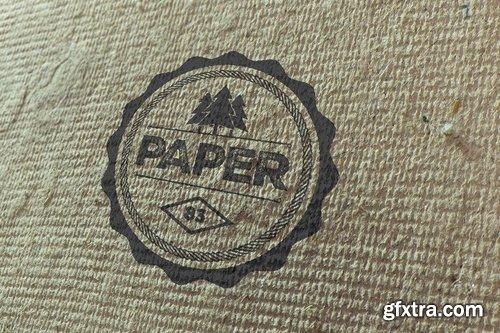 Creative Paper Logo Mockups
