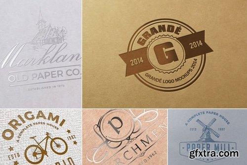 Paper Logo Mockups