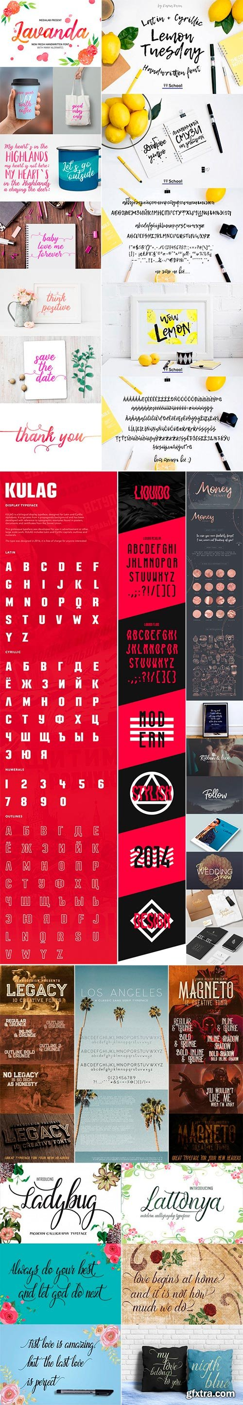 Mix Fonts Bundle 10