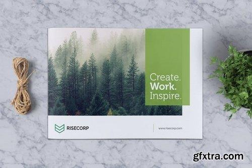 Creative Brochure Template A5 Vol 25