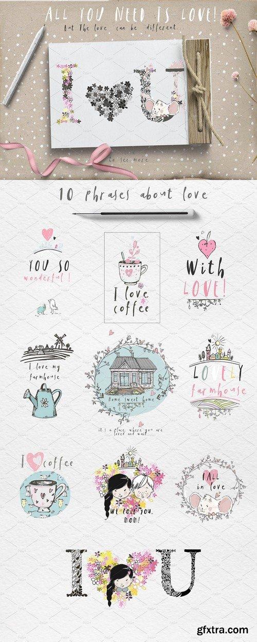 CM - LOVE IN THE FARMHOUSE 2259000