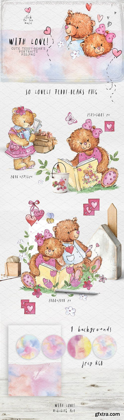 CM - SO LOVELY BEARS 2283930