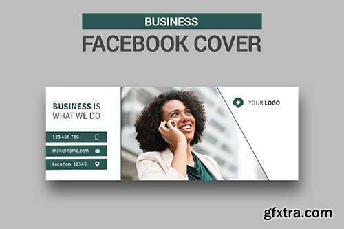 CreativeMarket - Business Facebook Cover 2606811