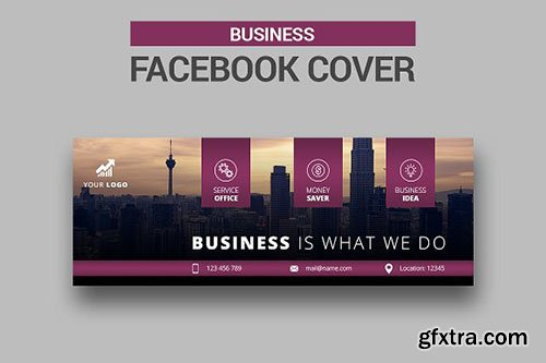 CreativeMarket - Business Facebook Cover 2607703