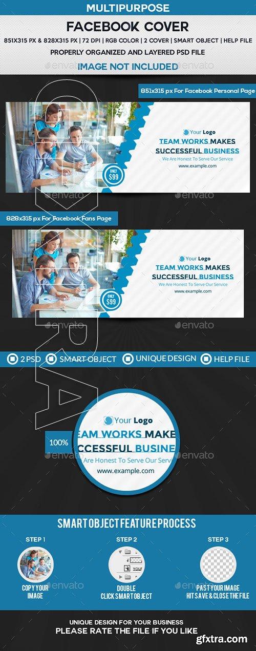 GraphicRiver - Business Service Facebook Cover 22293787
